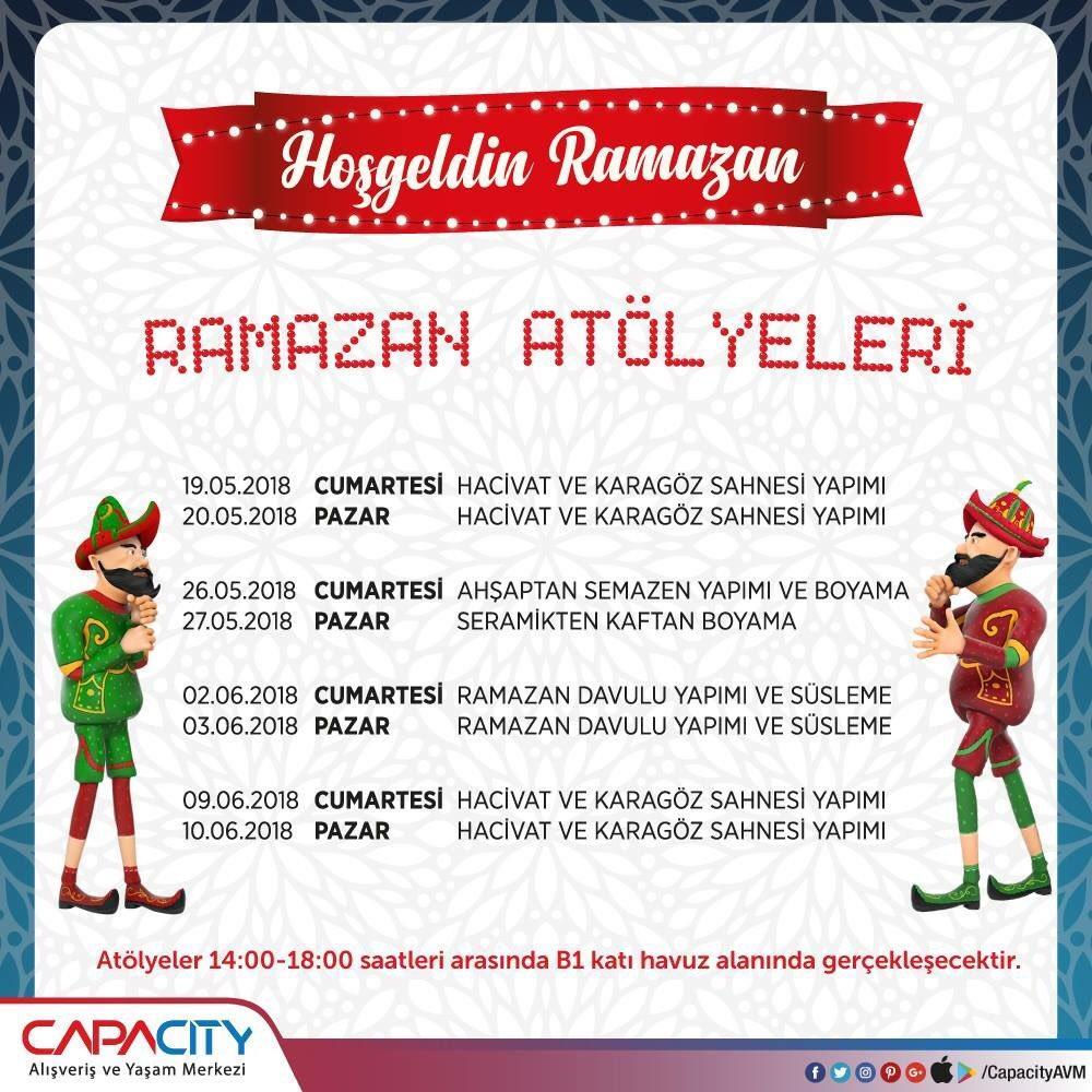 Capacity Avm On Twitter Capacityavm 2018 Ramazan Eğlenceleri