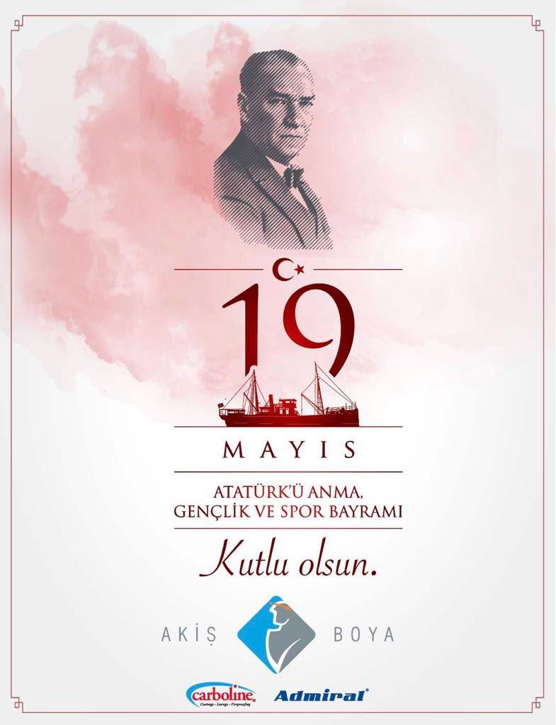 Akis Boya On Twitter 19 Mayis Ataturk U Anma Ve Genclik Spor