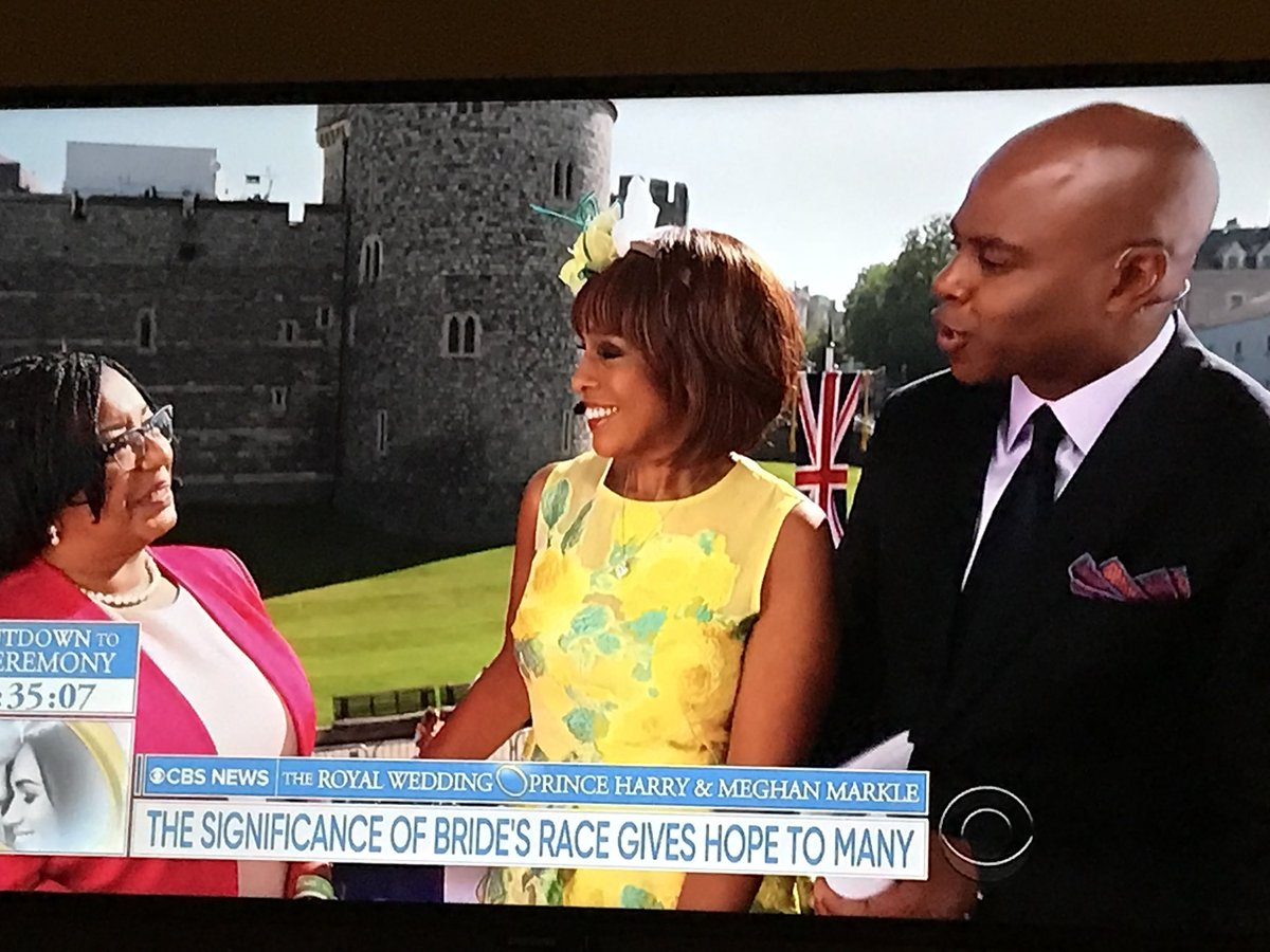 Cbs Royal Wedding Coverage.Sarah Forgany On Twitter Watching The Royal Wedding Now