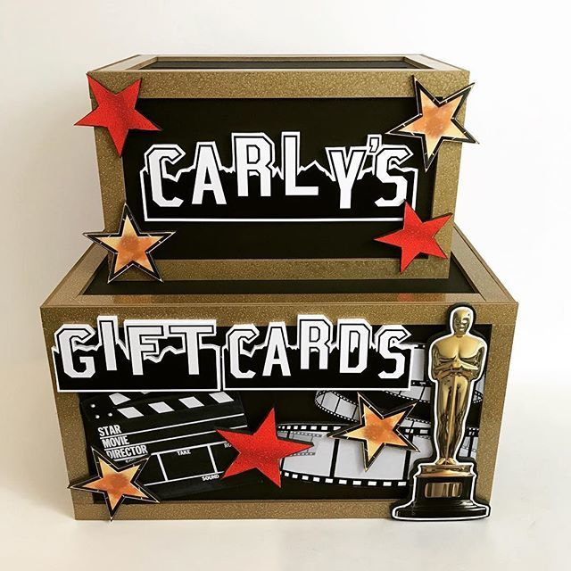 Marlyss On Twitter Hollywood Style Gift Card Box Featuring The