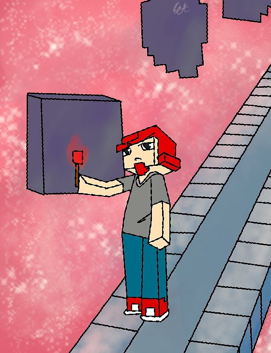 romeo minecraft story mode fanart