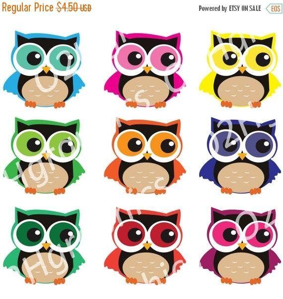 Twitter colorful. Hoo on cute owl
