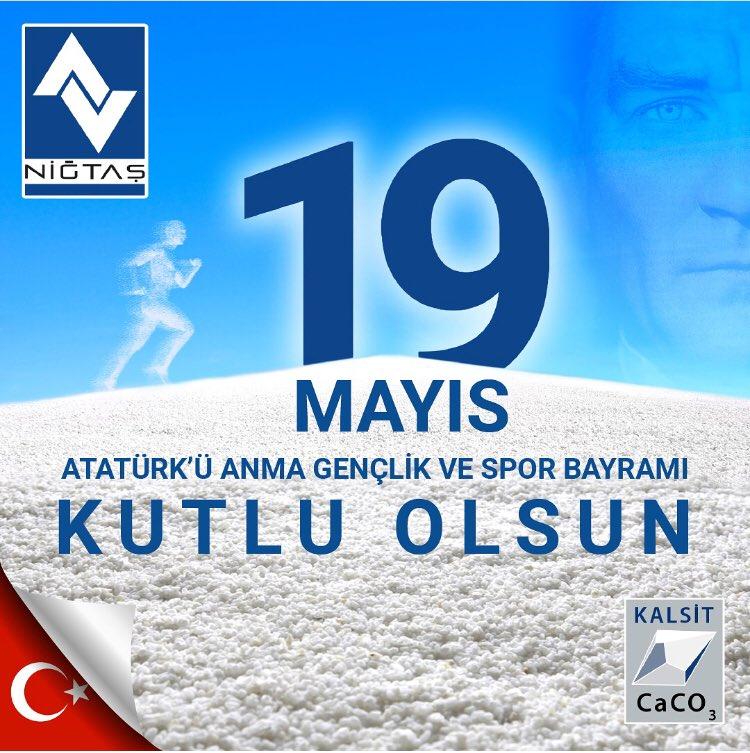 Niğtaş Mikronize على تويتر 19 Mayıs Atatürkü Anma Gençlik Ve Spor