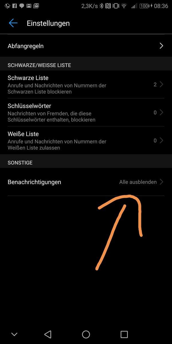 @DakiDax @Pixeldorf Achso, die werden also korrekt geblockt, aber es kommt eine Benachrichtigung dazu, die Du auch nicht willst? Dann alle Benachrichtigungen dazu ausblenden (siehe Screenshot)