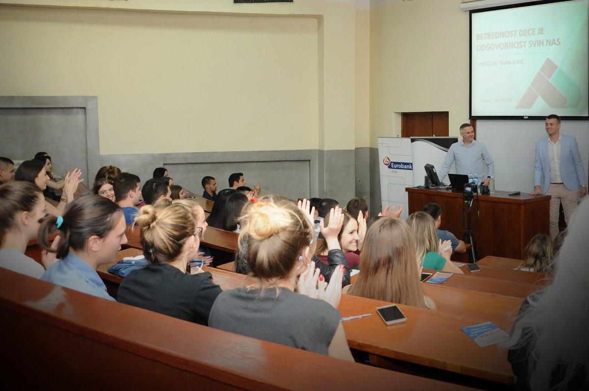 САОПШТЕЊЕ ЗА ЈАВНОСТ – Игор Јурић одржао предавање на Правном факултету у Београду