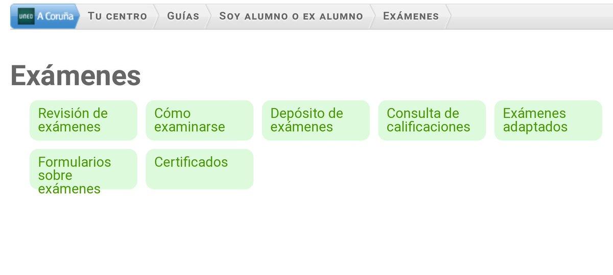 Uned Calendario Examenes.Uned A Coruna On Twitter Pruebaspresencialesuned