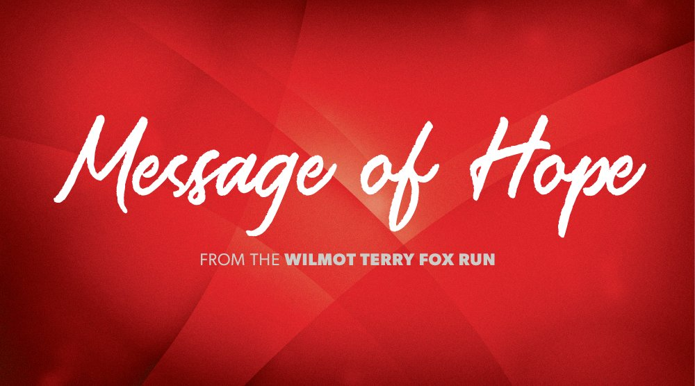 Wilmot Terry Fox Run On Twitter You Re Invited To Write Anonymous Positive Messages In Free Greetings Cards Provided By Us These Will Be Given To Randomly Selected Cancer Patients At Grand River Hospital