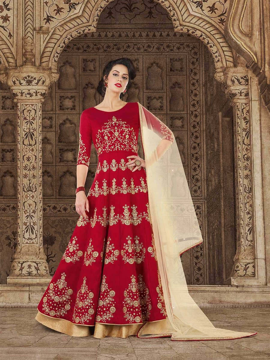5ee9bc2c76 Shop for maroon embroidered eid anarkali dress and pakistani suits.  https://bit.ly/2JsFwuP #maroonanarkalisuit #embroidered #eidclothes  #anarkalidress ...