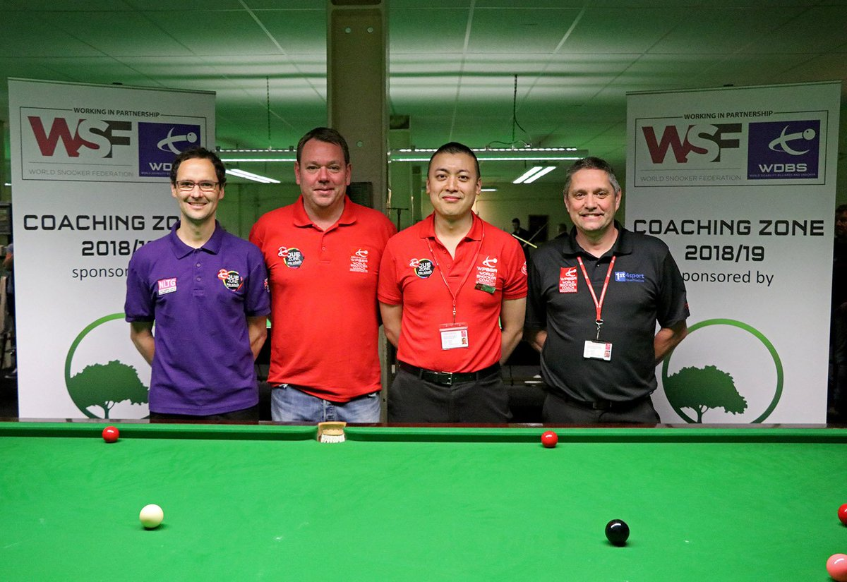 test Twitter Media - 👏 Great work from full WSF member body @WDBSofficial  this weekend in Derby with the Paul Hunter Disability Classic #Cue4All https://t.co/vGYg5LclYh