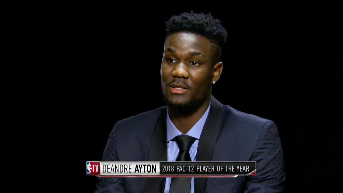 .@iamisiahthomas sat down with @DeandreAyton ahead of the #NBADraft to talk experience at Arizona, why his favorite player is KG and more!   #GameTime