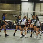 Image for the Tweet beginning: The 16U green girls competed