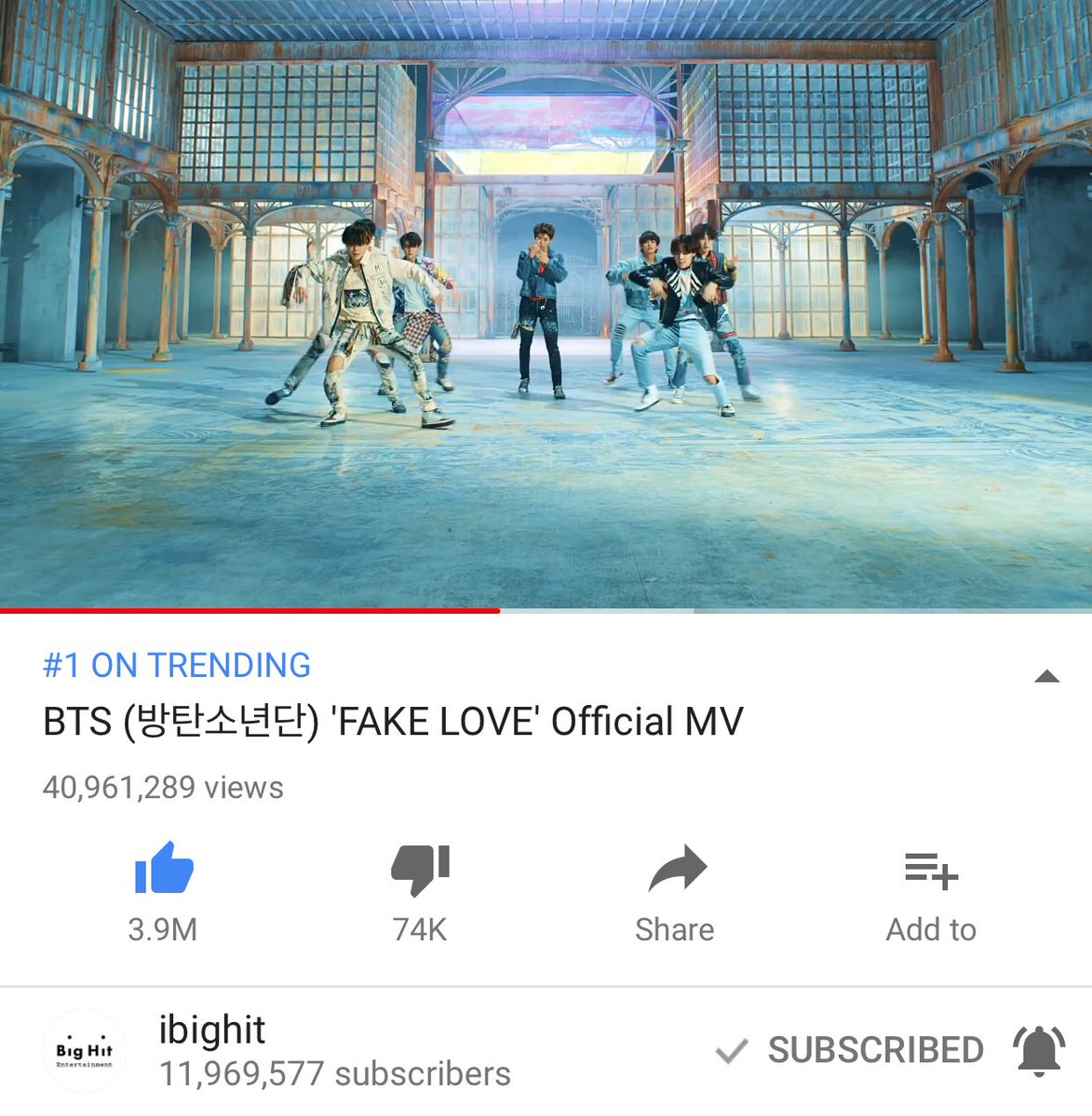 Fake Love, BTS, Music Video | Baaz