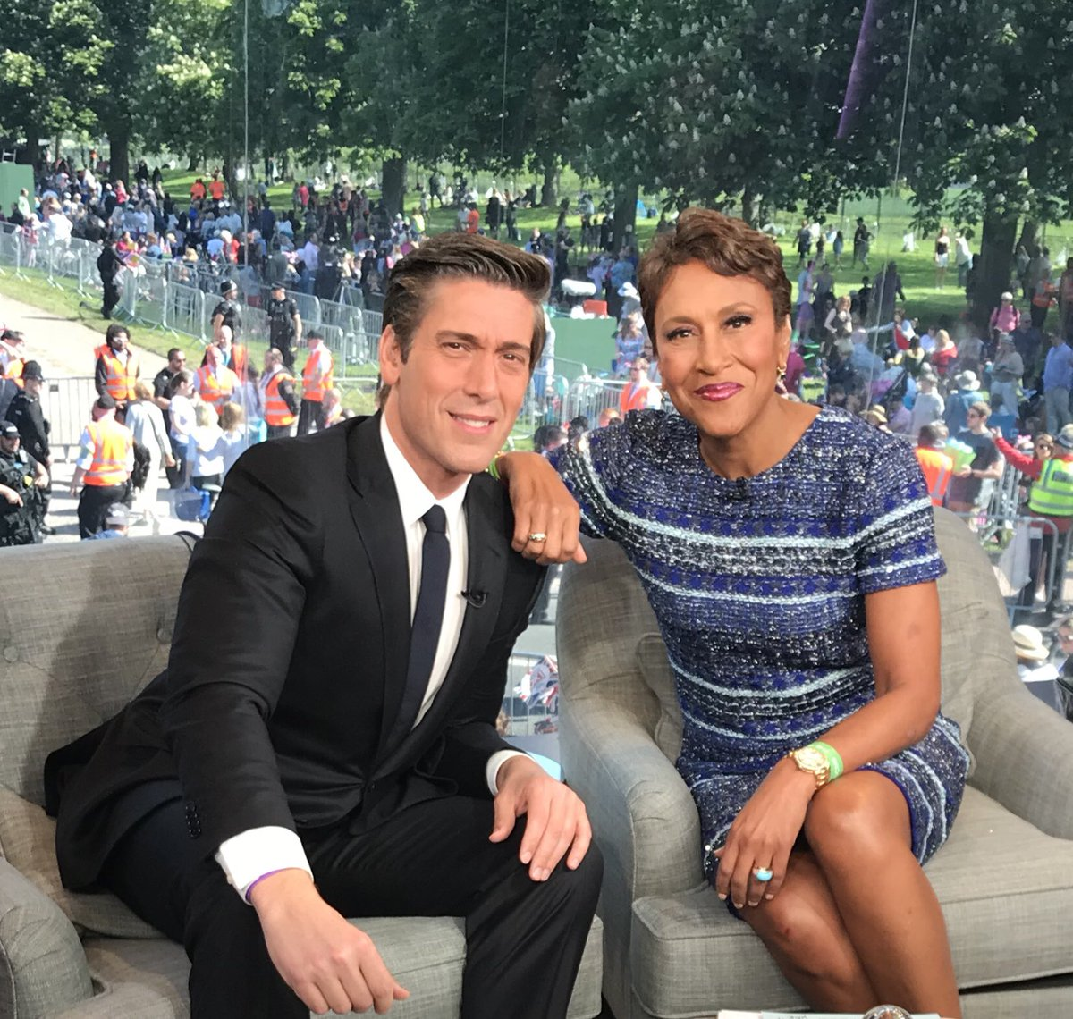 Robin Roberts On Twitter The Day Is Finally Here Davidmuir And I Will Have Special Coverage Of Royalwedding All Morning Long Abc