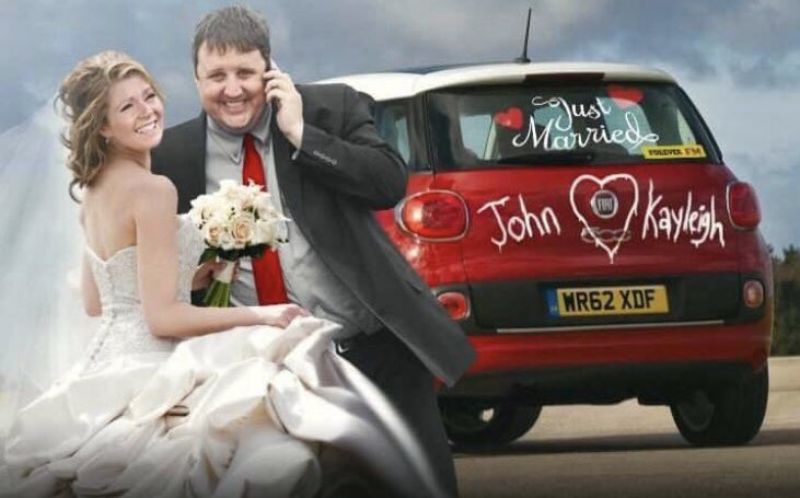 This wedding on the BBC is getting a lot of coverage,has it finally happened for John and Kayleigh ?  #carshare @Sianygibby @PColemanchester<br>http://pic.twitter.com/oPA26hcn1h