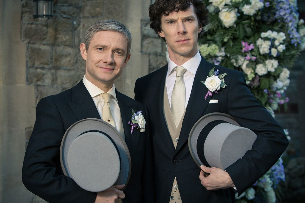 We've just heard there's a wedding going on today. Is that right?  #Sherlock #RoyalWedding