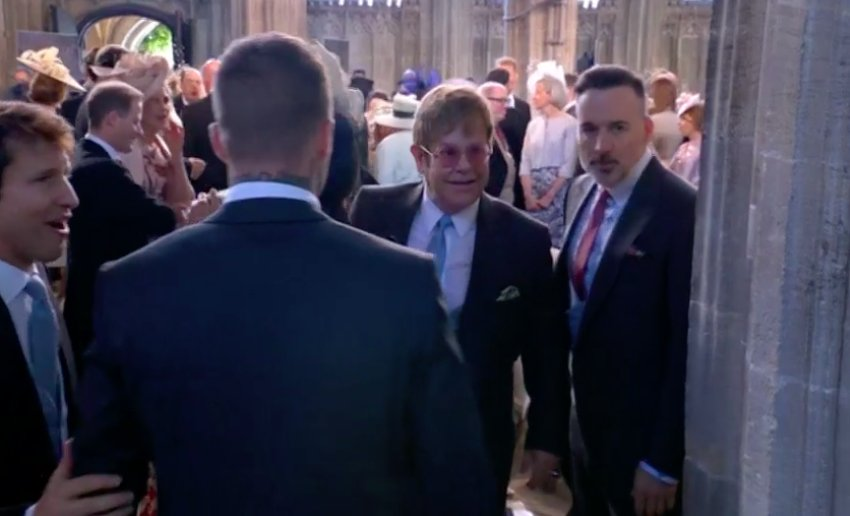 Royal Wedding Cancelled.Royal Central On Twitter Sir Elton John Has Arrived At The
