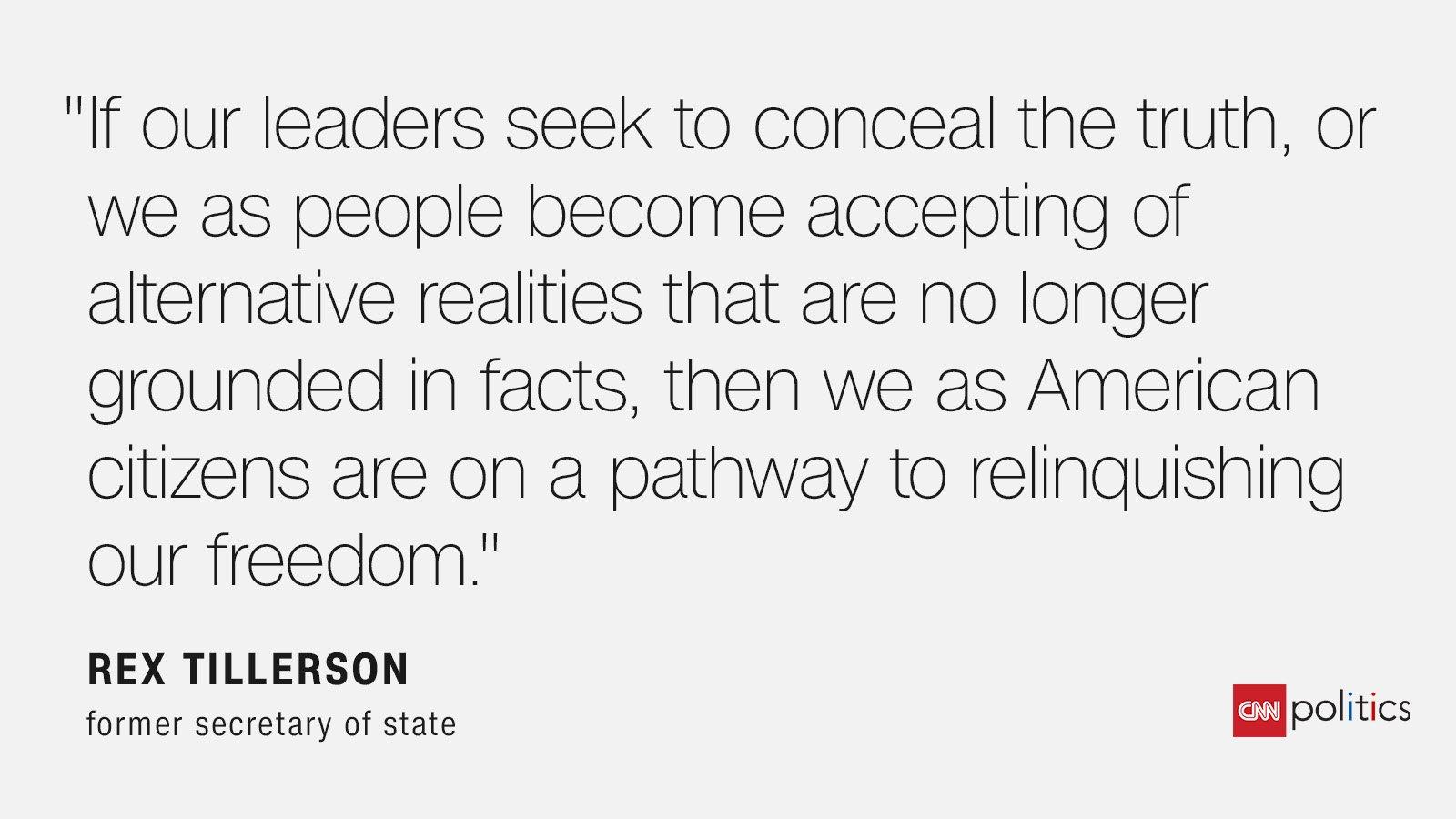 Rex Tillerson just majorly trolled Donald Trump | Analysis by CNN's Chris Cillizza https://t.co/2QmdkFGQNR https://t.co/s35HW4Dkcy