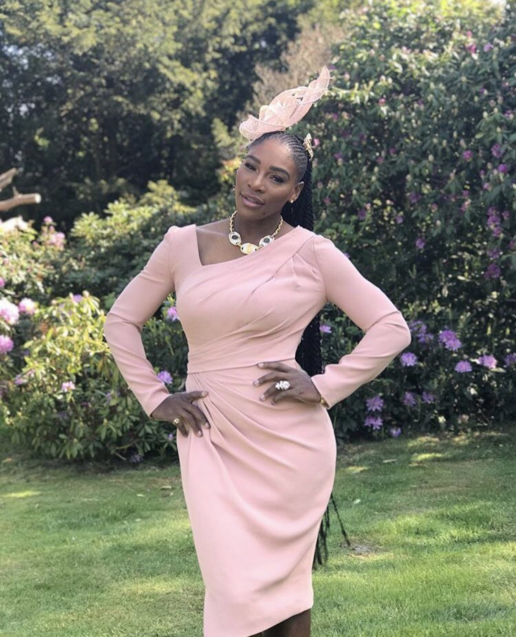 "If an employer/school ever makes a comment about your twits, braids, or cornrows reply with, ""if it's good enough for a #RoyalWedding, it's good enough for you."" 💁🏾‍♀️ (📷: @serenawilliams )"