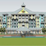Image for the Tweet beginning: Magaritaville Hotel to open in