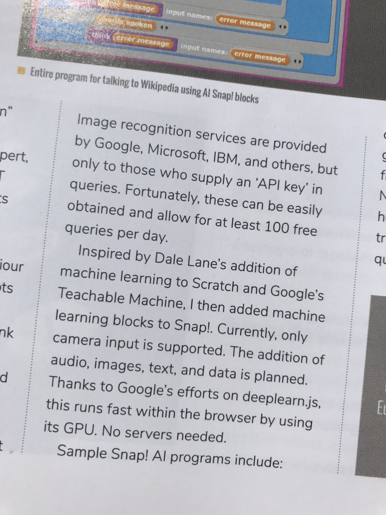 test Twitter Media - Lovely surprise to be reading the latest issue of @HelloWorld_Edu and come across a mention of the work I'm doing!  Go look at Ken Kahn's project to help kids build AI programs- it's very cool : https://t.co/vj8V2Jwswg https://t.co/bxeD8ikfK6