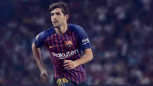 Así será la nueva camiseta del Barça para la temporada 2018/19 ver.20m.es/1kf0l1