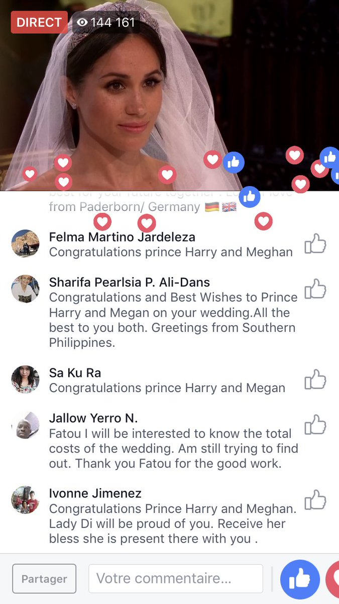 Looking #RoyalWedding2018 for Ivory coast. 🇨🇮 May GOD bless this love ! #ci225