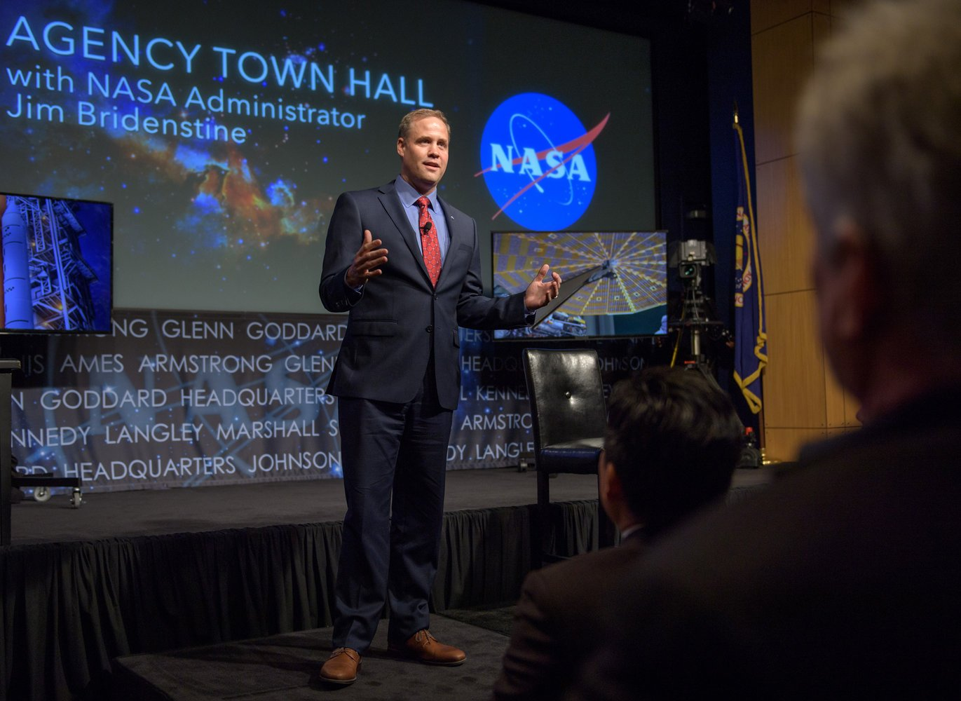 New NASA Chief Bridenstine Says Humans Contribute to Climate Change 'in a Major Way' https://t.co/YpgmLmYLwi https://t.co/bmGiDywzl5