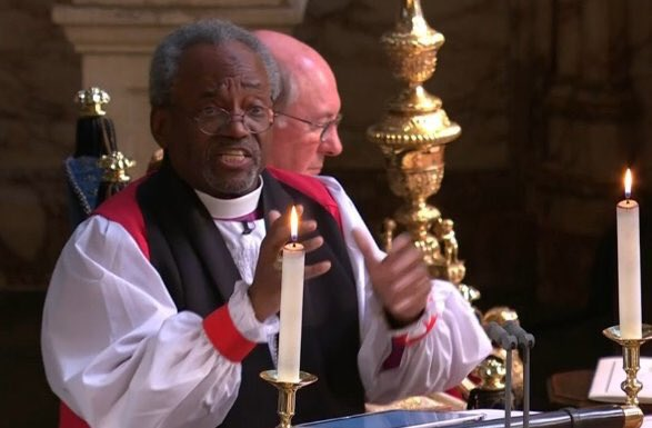 Black Preacher At Royal Wedding.Bishop Curry S Preaching Electrified The Royal Wedding