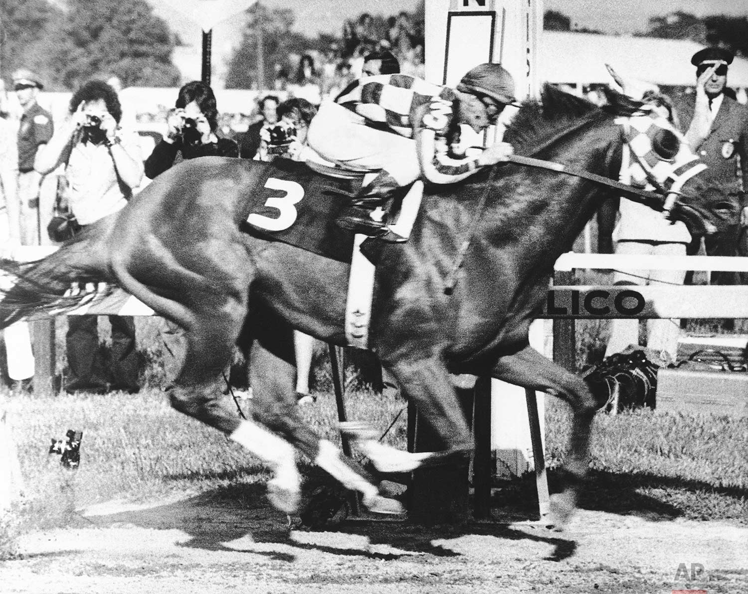 #OTD in 1973, Secretariat won the Preakness Stakes, the second of his Triple Crown victories. https://t.co/ZWdKUVAh9q