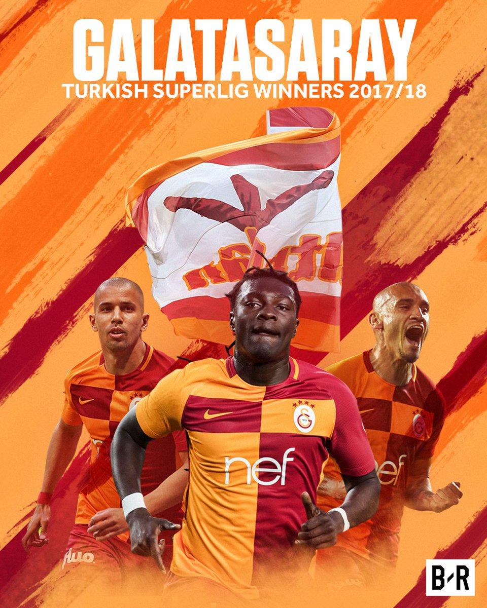 Champions of Turkey: Congratulations, @Galatasaray! 🇹🇷🏆