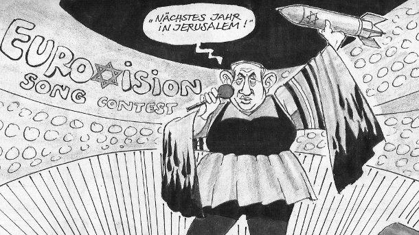 Image result for antisemitic cartoon was published in the Süddeutsche Zeitung