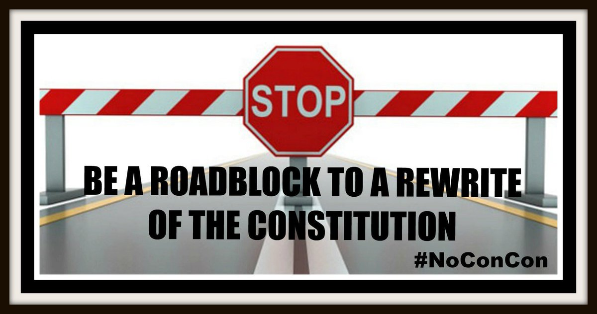 But... Before you leave😉  Please take a minute to help us do a better job getting the word out abt this nefarious #Koch backed effort to rewrite our US Constitution  What can we do more/less of? What can you do?  Do u want to join us? 😊Comments/Questions/Ideas Welcome #NoConCon