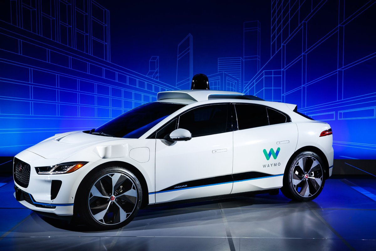 This is the Waymo #Jaguar #IPACE, a partnership with Waymo to develop the world?s first premium self-driving electric vehicle for driverless transportation. #JaguarElectrifies https://t.co/xOjJUkLREW