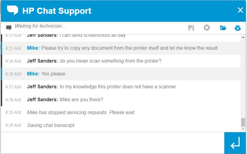 HP Support on Twitter:
