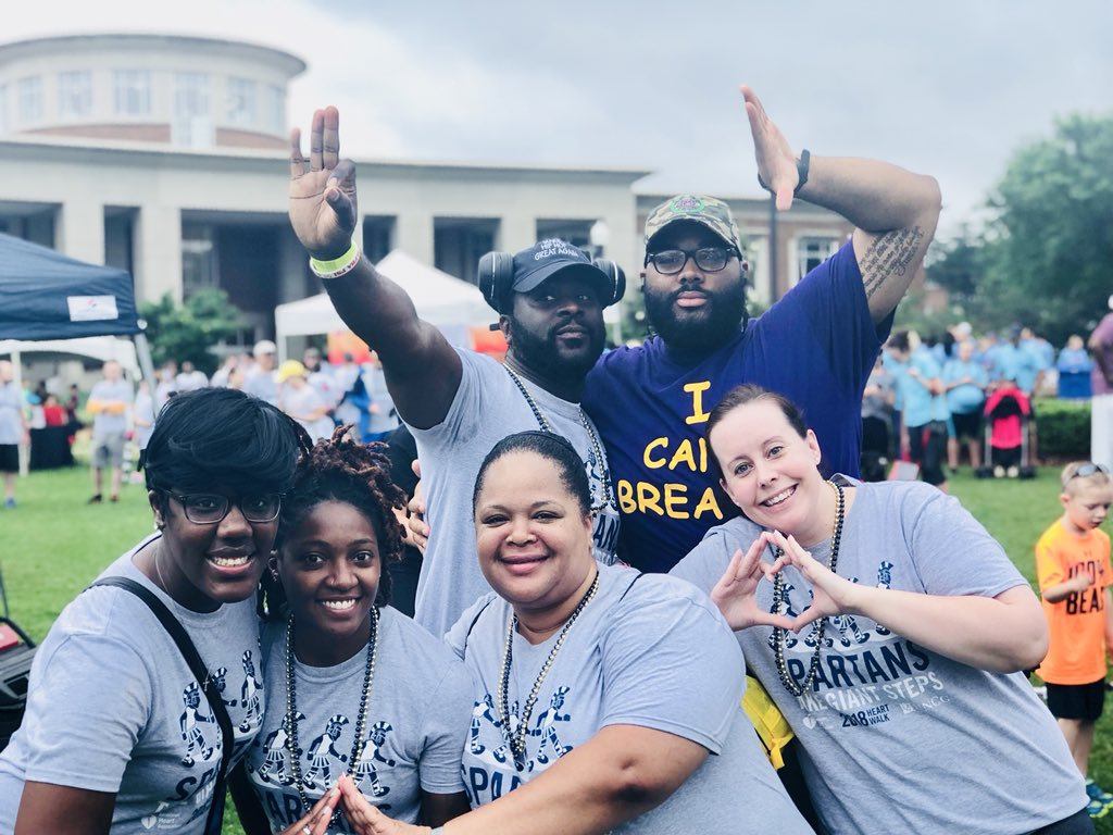 Demarcus Merritt On Twitter Uncghrl Prostaffgreeks Ericafarraruncg Coach Mattmckay Shelley Wald And Christine E Williams Guilfordheartwalk Weheretogether Wecheertogether Uncg125 Unity Heartwalk Strokewalk
