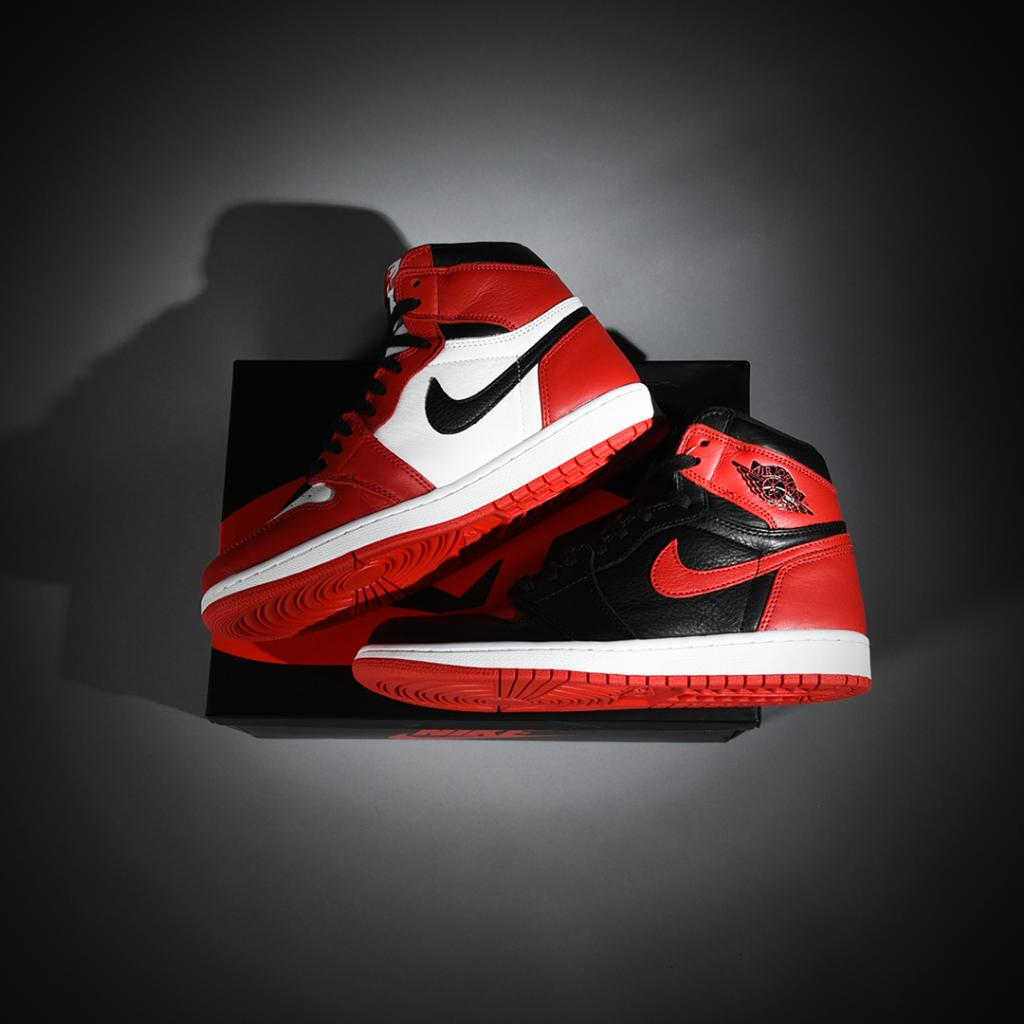704bd6920282 Chicago + BRED   H2H.  Jordan Retro 1  Homage to Home  Men s Online   http   bit.ly 2rVGZ5L Men s and GS In-Stores  http   bit.ly 2H1mU50  pic.twitter.com  ...