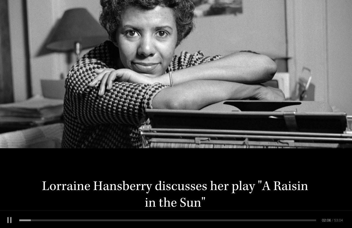 a review of lorraine hansberrys play a raising in the sun Whether lorraine hansberry's tony award-nominated play is read or seen on the stage, the play teaches young readers about the daily lives of urban african americans in the 1950s, and about the ways that racial prejudice affected their prospects.