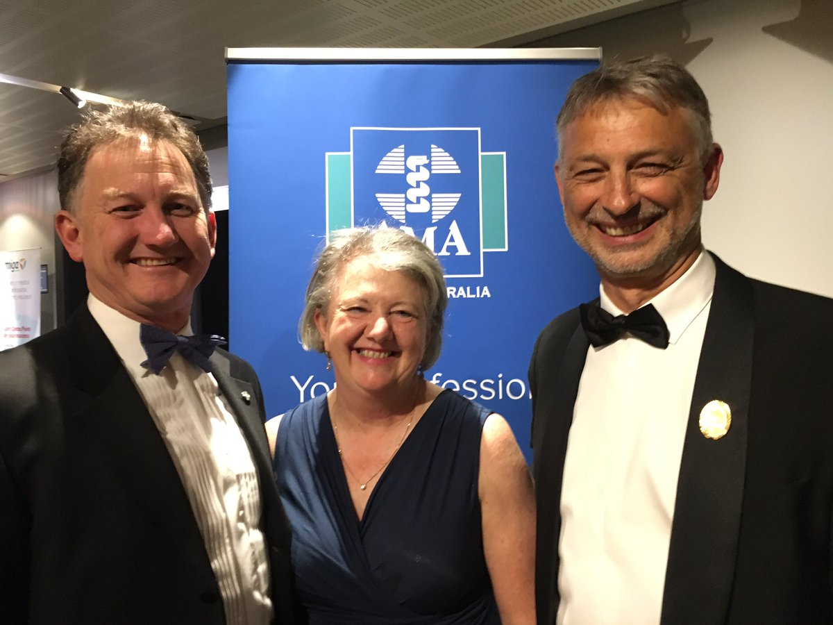 "AMA President on Twitter: ""Thank you AMA SA for a fabulous night at your  Charity Gala Ball. Worthy award winners for excellence in teaching, global  health, ..."
