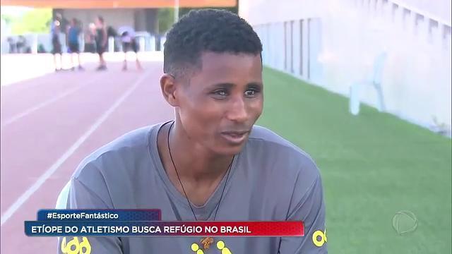 Corredor da Etiópia que foi medalhista nos jogos paralímpicos do Rio de Janeiro, em 2016, tenta recomeçar uma nova vida de superação aqui no Brasil #EsporteFantástico