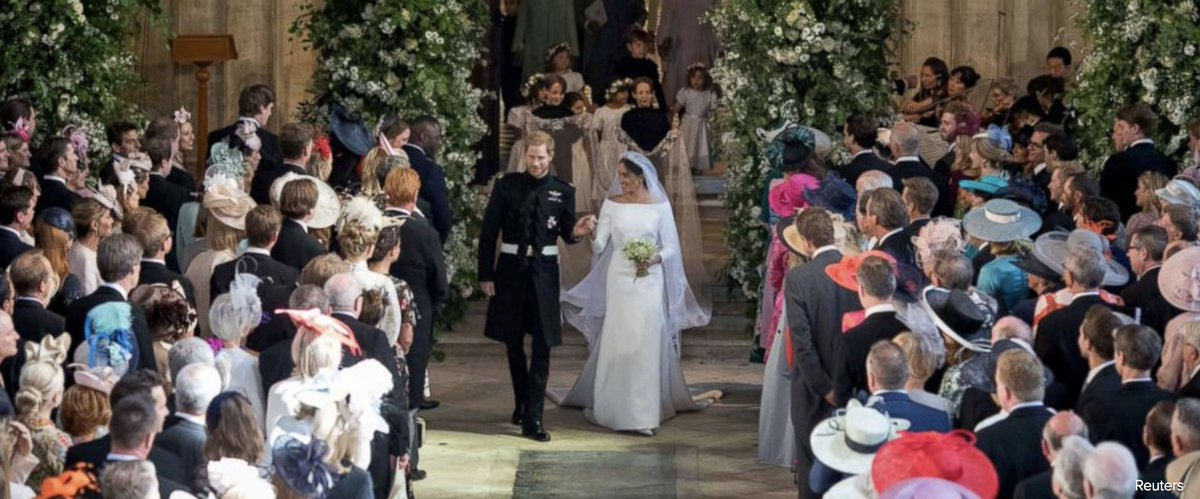 After the wedding is the after-party, and in Prince Harry and Duchess Meghan's case, two after-parties. abcn.ws/2Led01V #RoyalWedding