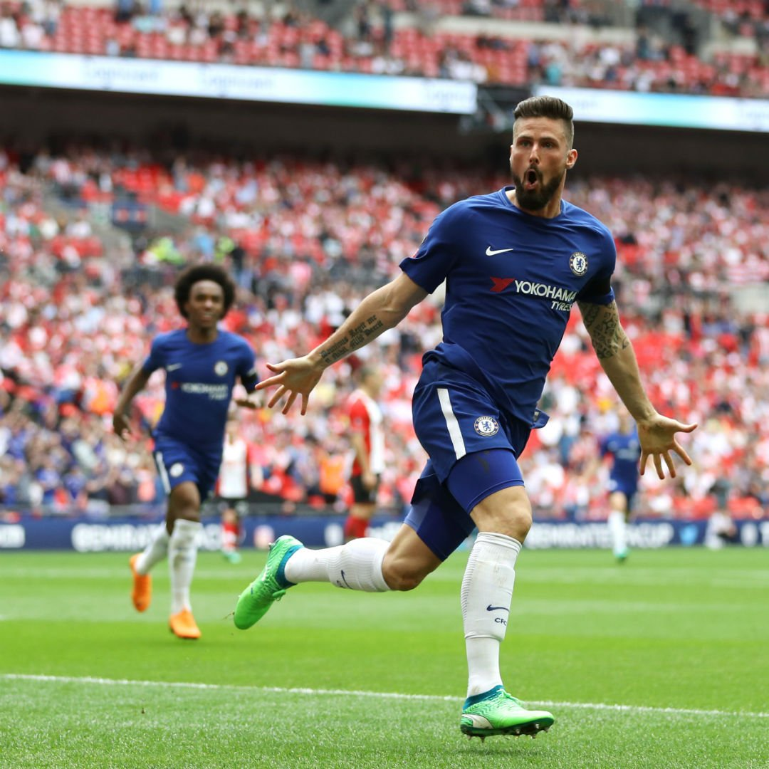 22 - Olivier Giroud has been directly involved in 22 goals in his 26 FA Cup appearances (15 goals, 7 assists), more than any other player in the competition since his debut. Magnifique. #FACupFinal
