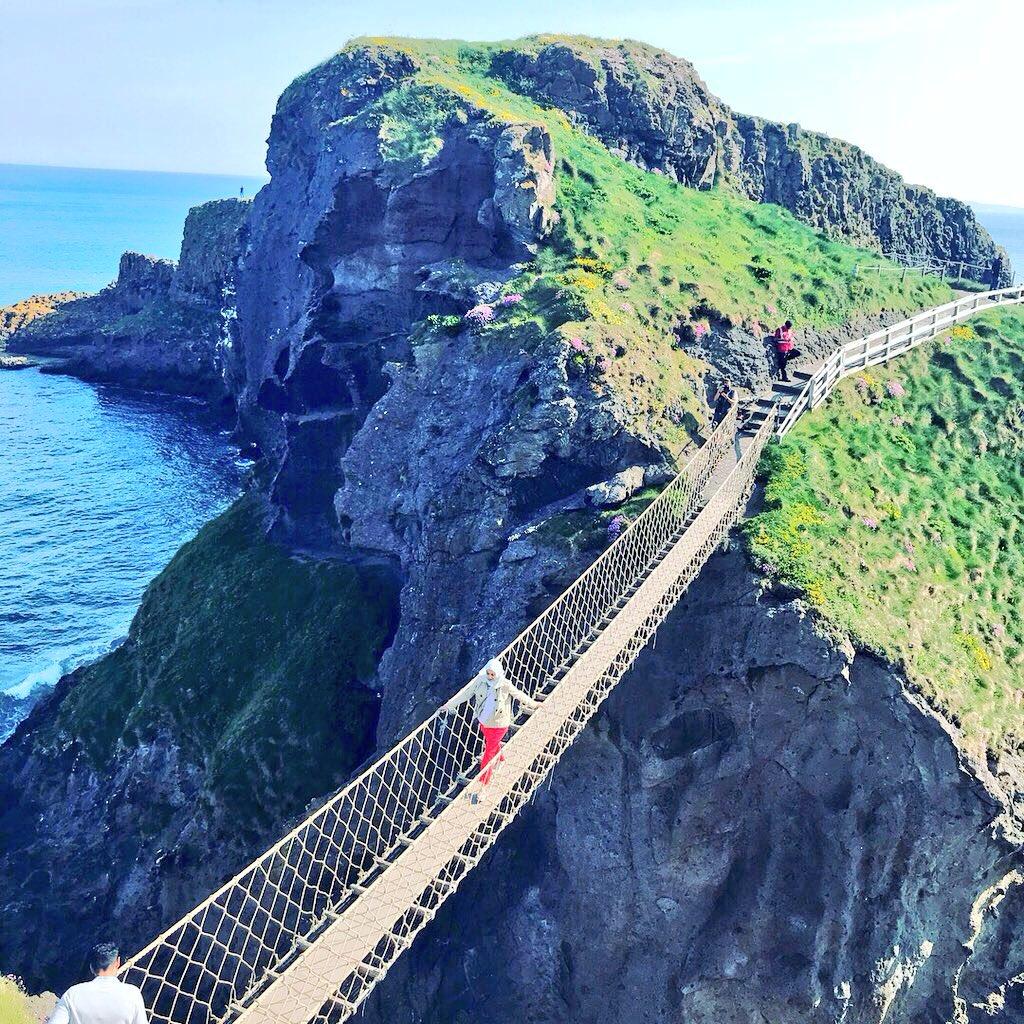 Photoshoot for #TourismIreland on the North Coast today #CausewayCoast #LoveIreland #Discoverni