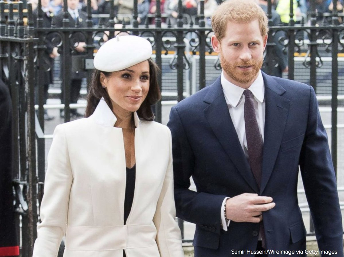 Prince Harry and Meghan Markle are now the Duke and Duchess of Sussex. abcn.ws/2LfWAWM