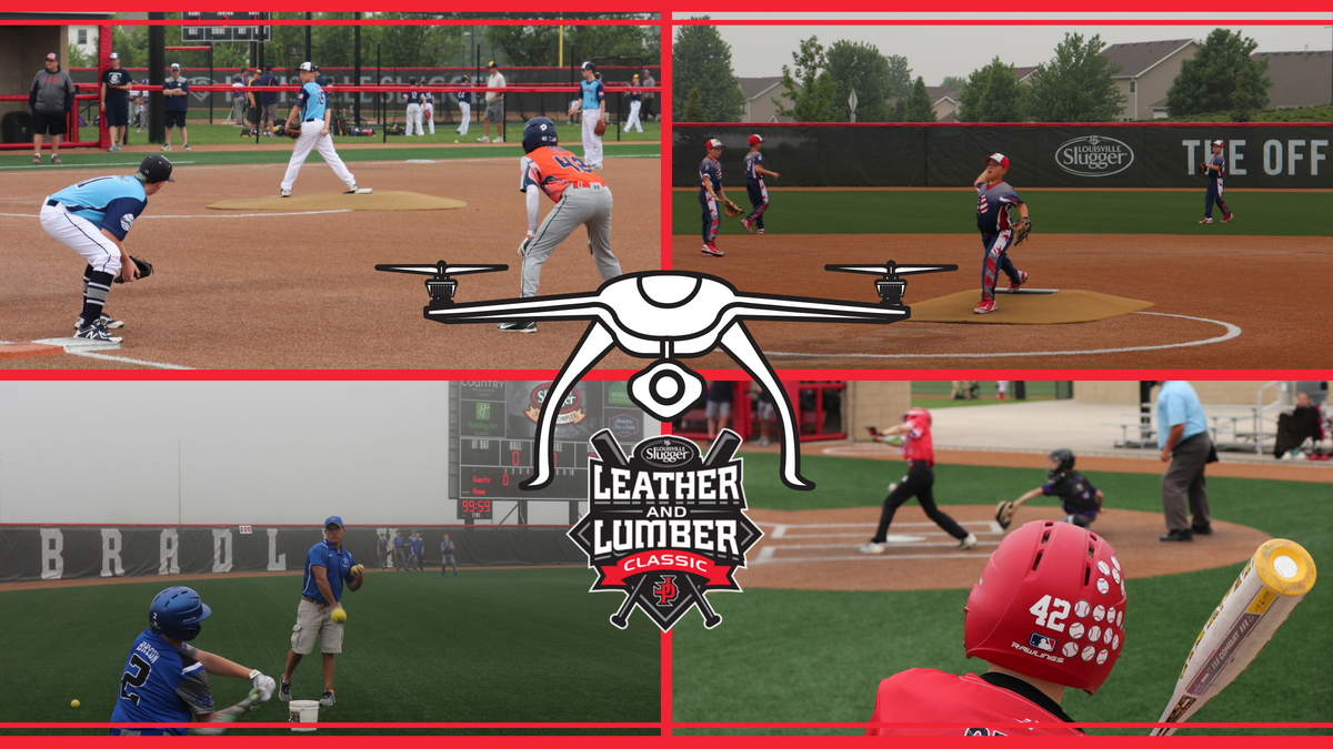 test Twitter Media - 🚨🚨LIVE DRONE VIDEO ALERT 🚨🚨  Like/Follow to watch LIVE at 1pm CST ➡️➡️ https://t.co/YqyikSapSC      Check out this #SLLC LIVE from the air! @PlayJPSports #USSSA #playUSSSA #PlayTheBest #SluggerPeoria https://t.co/1k0KFD2zXo