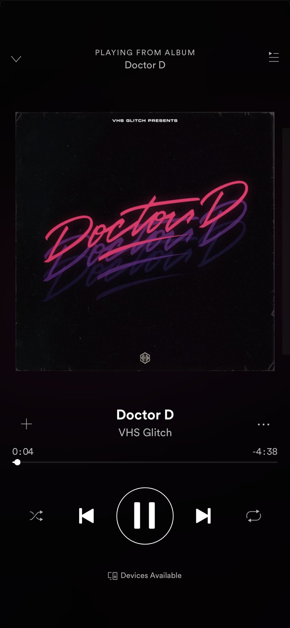 When is the album dropping @DrDisRespect @VHSGlitch https://t.co/si26u2cRdw