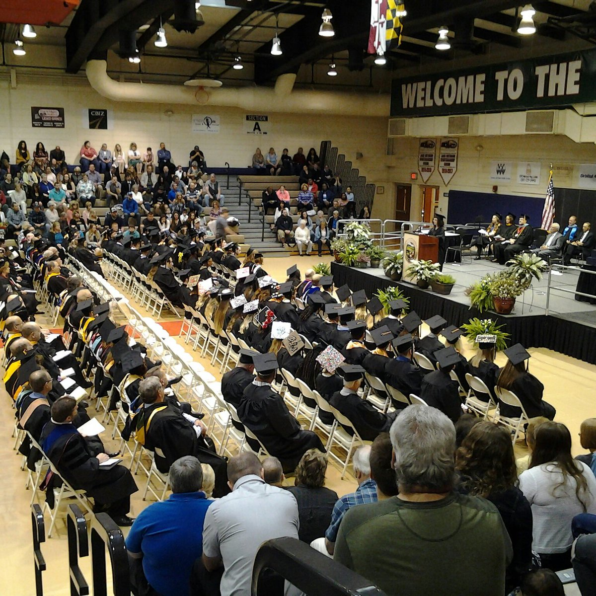If you can&#39;t be with us today, you can join us live on Facebook.    #Congratulations #Classof2018   #EngageYourFuture #alleganycollegeofmaryland #ExperienceACM #hardworkpaysoff #bigstep #Commencement2018 #graduation #GoTrojans<br>http://pic.twitter.com/jUQ3dbeWEr