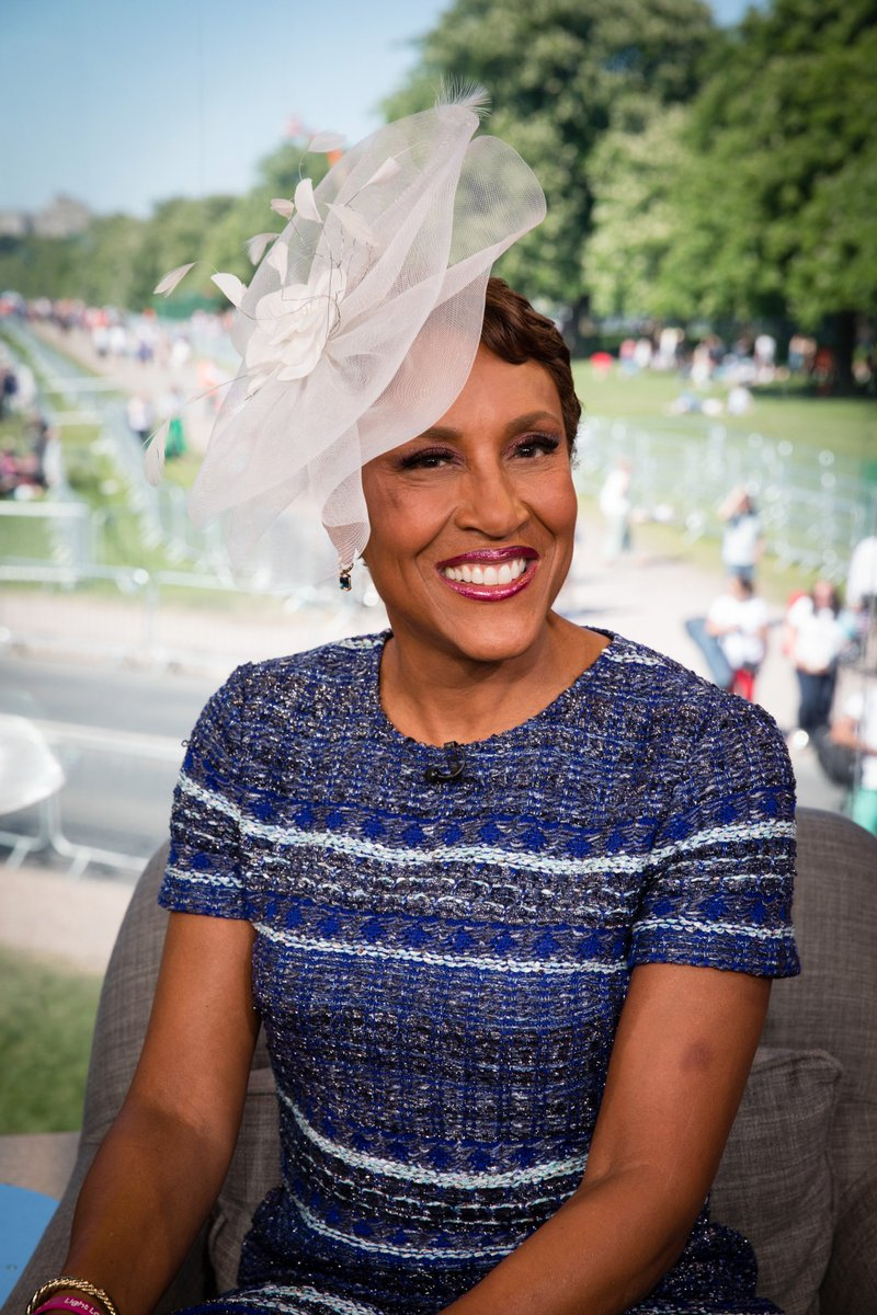 Our team here across the pond in Windsor! Thanks for watching the #RoyalWedding on ABC with us! @RobinRoberts @DavidMuir gma.abc/xWdzt7