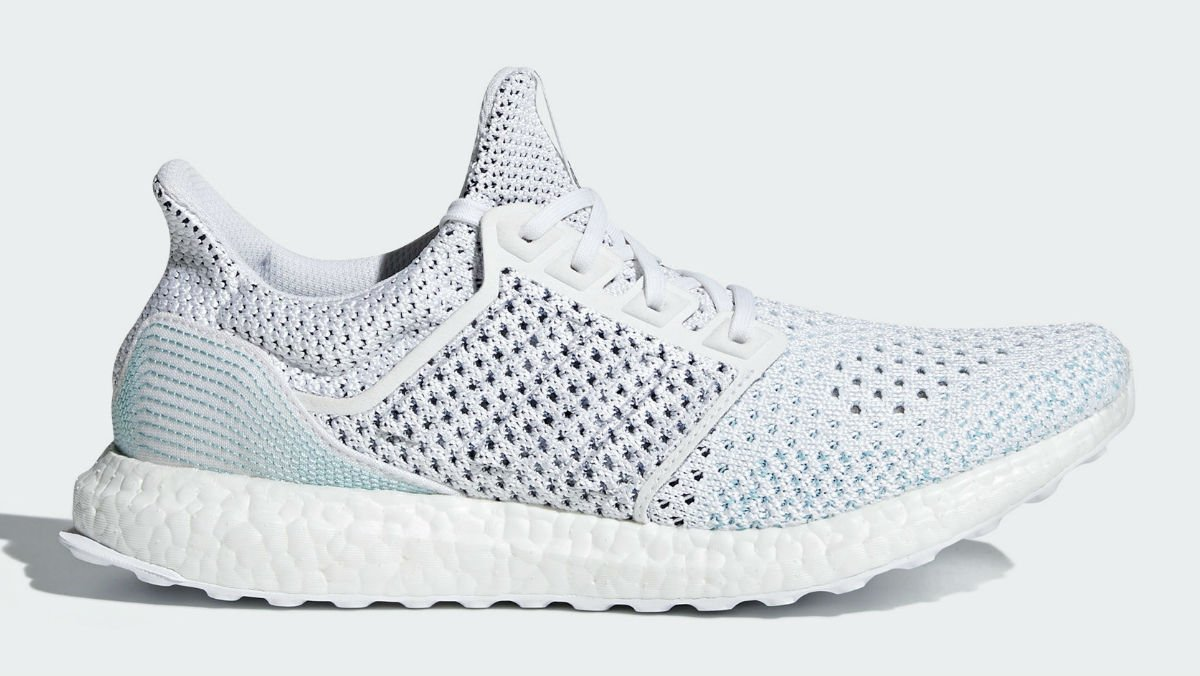 Adidas and Parley are teaming up for another Ultra Boost made with recycled plastic. https://t.co/Qj8JU1scen