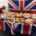Our chef Sam's buffet, fit for the Queen. A truly remarkable day #RoyalWedding