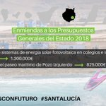 Image for the Tweet beginning: @santaluciagc también gana hoy con